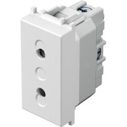 Vtičnica MODUL Blister P/O 10A 230V z zaščito IP20 1M Drugo BE TEM ČATEŽ [VM20PW-B - 4317686]
